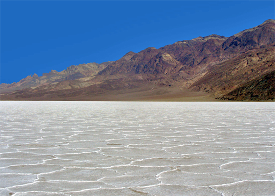 The Salt Flats at Badwater