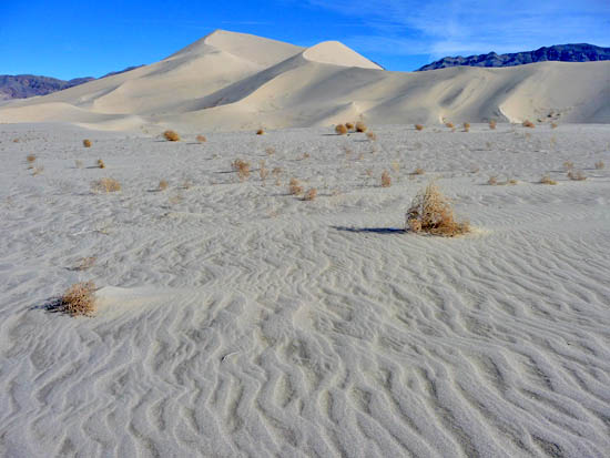 The Eureka Sand Dunes